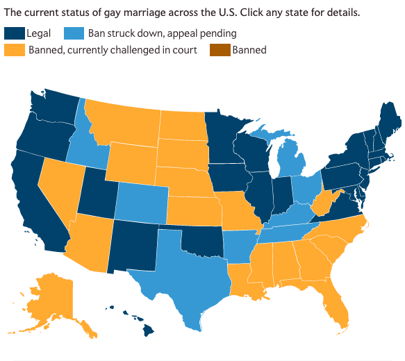 Marriage equality maps | Stats Chat