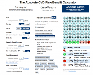 cardiovascular risk calculator diabetes
